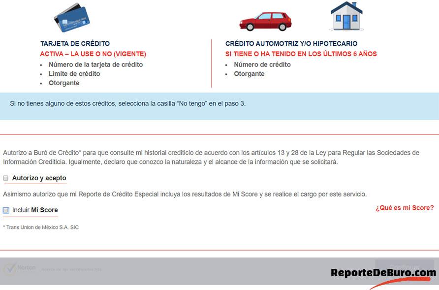 autorización en burodecredito.com.mx